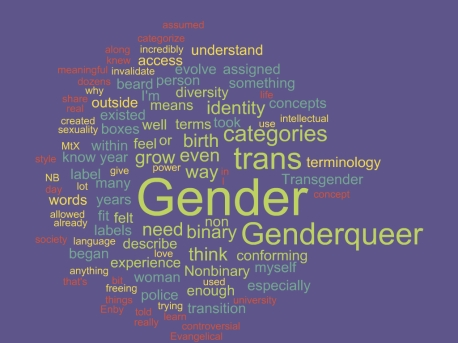Gender terms cloud