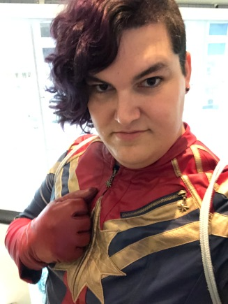 Captain Marvel Selfie